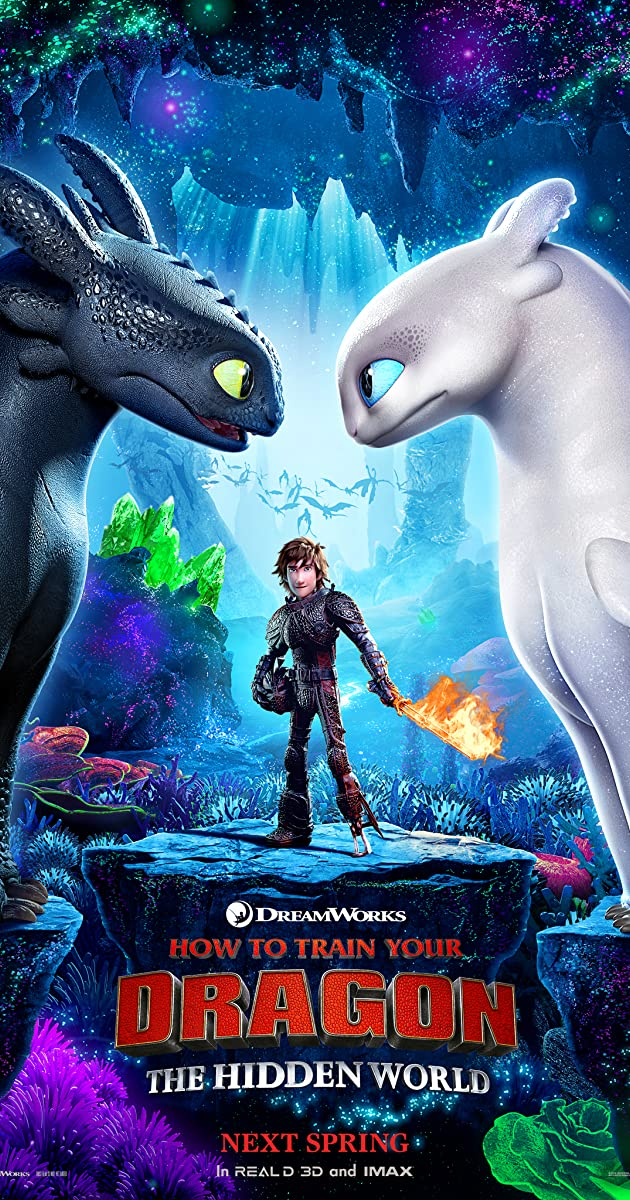 Kaip prisijaukinti slibiną 3 / How to Train Your Dragon: The Hidden World (2018)