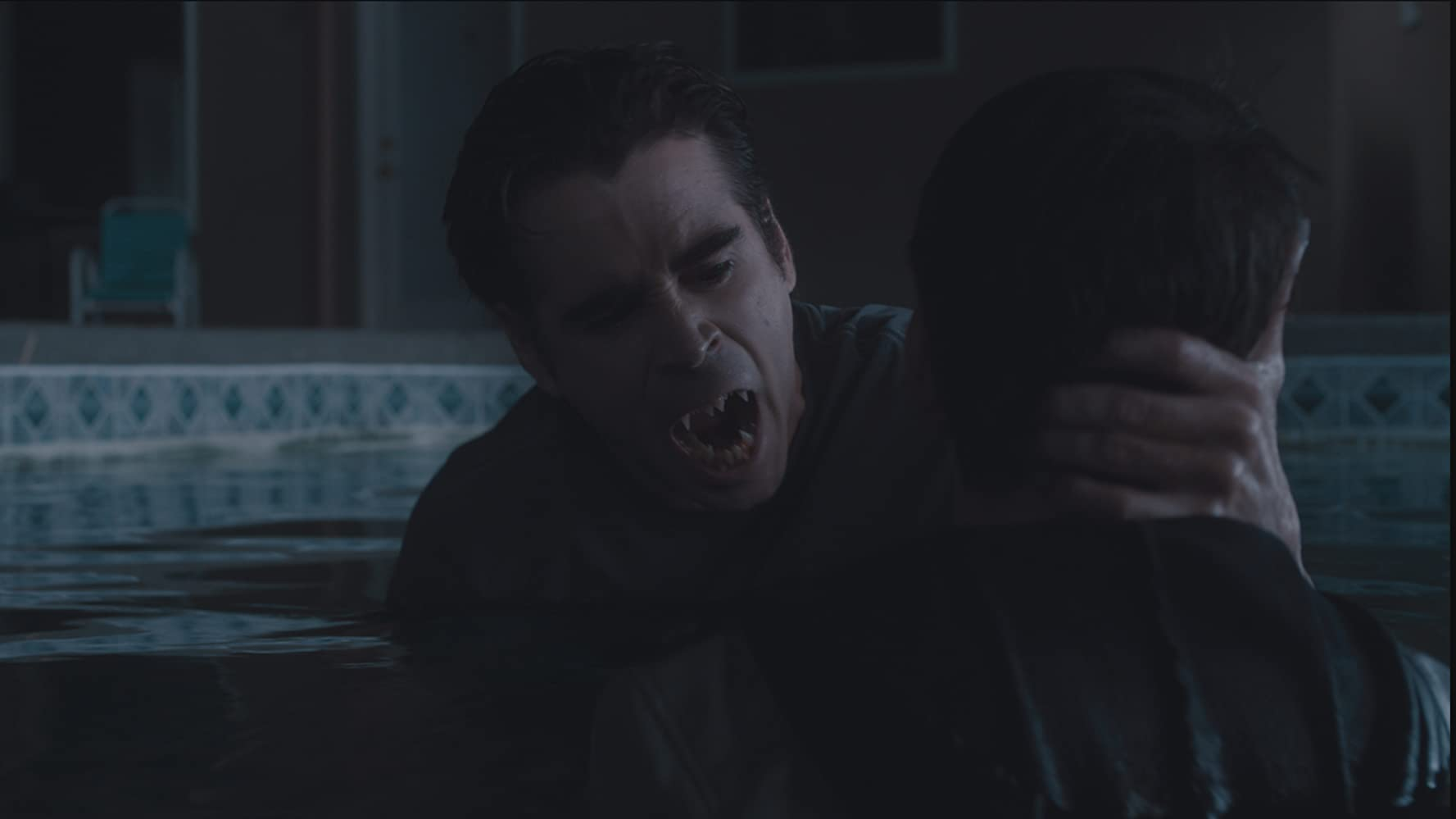 Colin Farrell and Christopher Mintz-Plasse in Fright Night (2011)