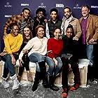 Alexis Marie Wint, Darren Dean, Zora Howard, Joy Ganes, Ade Otukoya, Carter Redwood, Meeya Davis, and Imani Lewis at an event for The IMDb Studio at Sundance (2015)