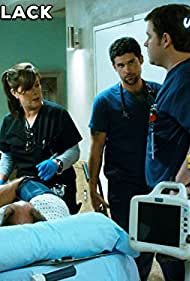Marcia Gay Harden, Benjamin Hollingsworth, and Harry Ford in Code Black (2015)