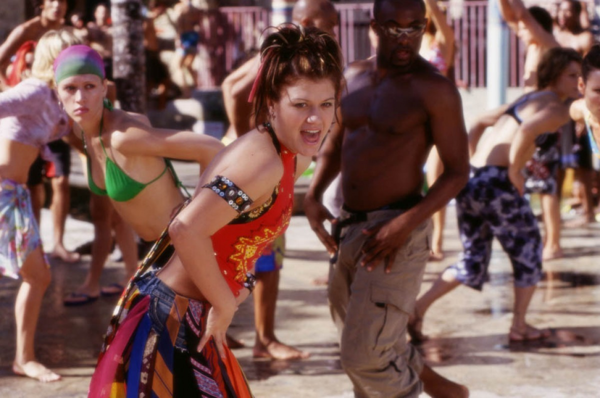Kelly Clarkson in From Justin to Kelly (2003)