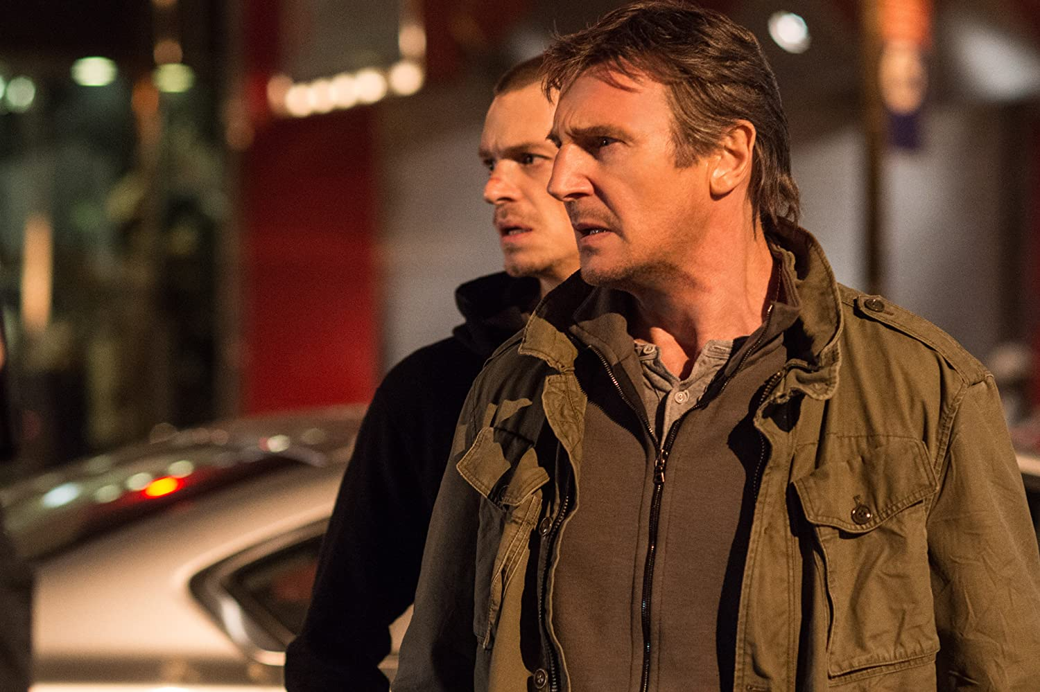 Liam Neeson and Joel Kinnaman in Run All Night (2015)