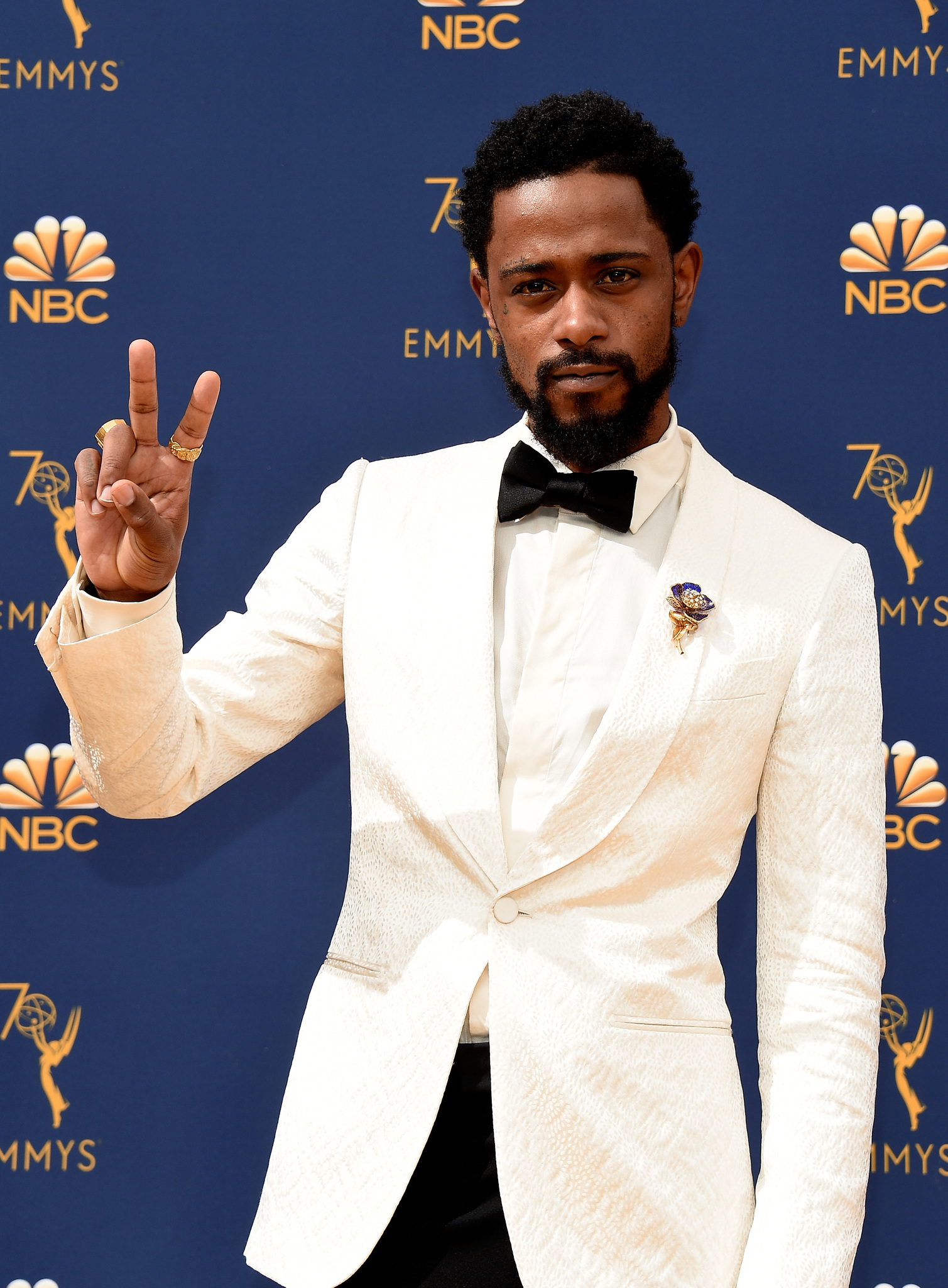 LaKeith Stanfield at an event for The 70th Primetime Emmy Awards (2018)