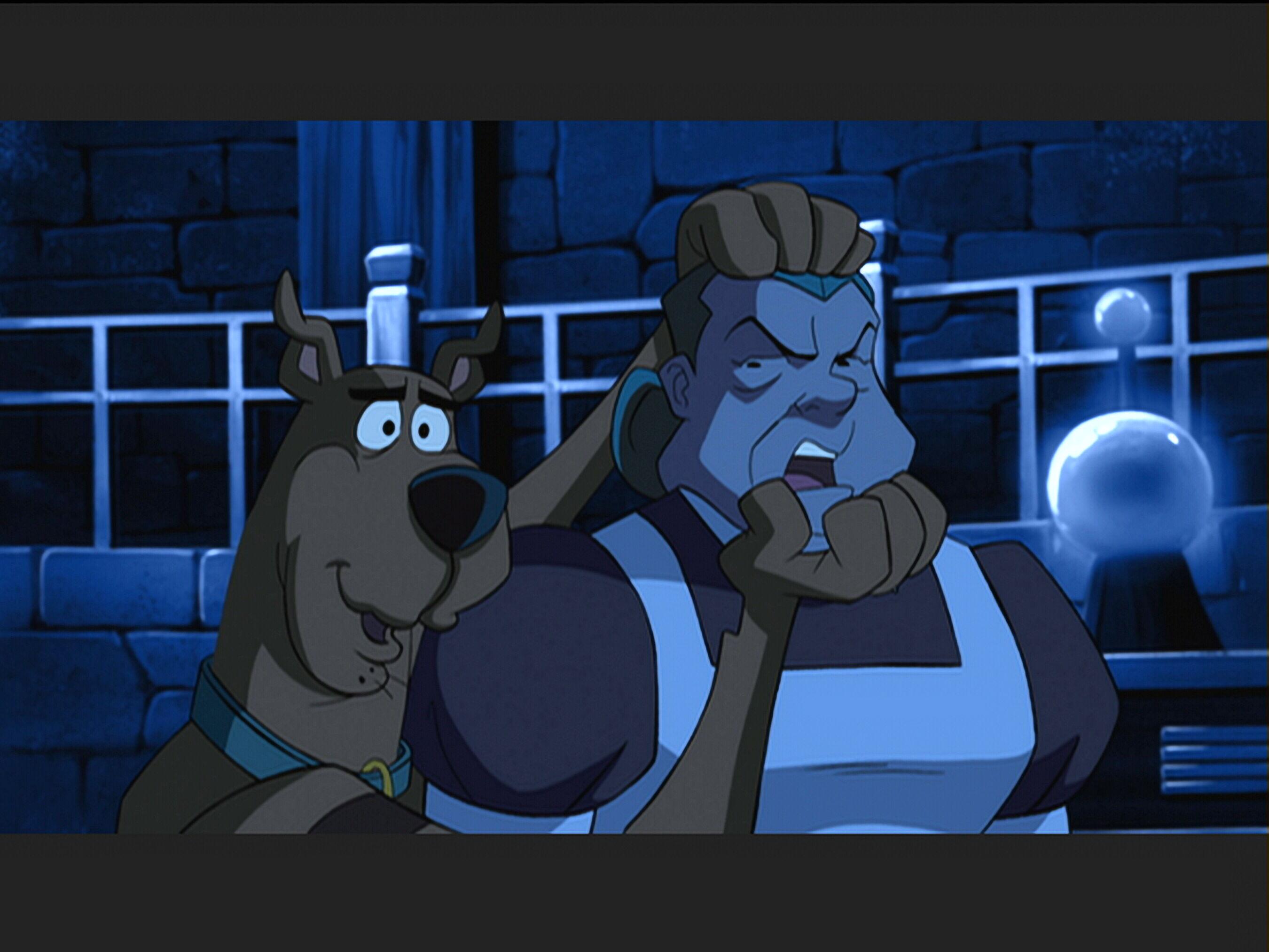 Diane Delano and Frank Welker in Scooby-Doo! Abracadabra-Doo (2010)