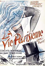 La vie parisienne Poster