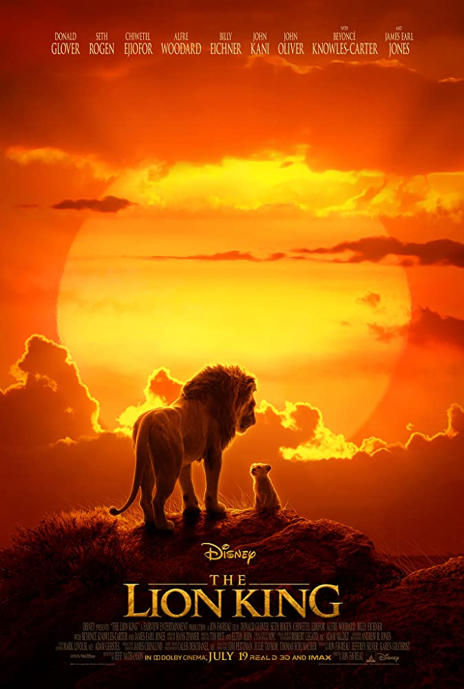 Poster Film The Lion King (2019)
