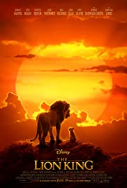 Movie Poster for Lion King.