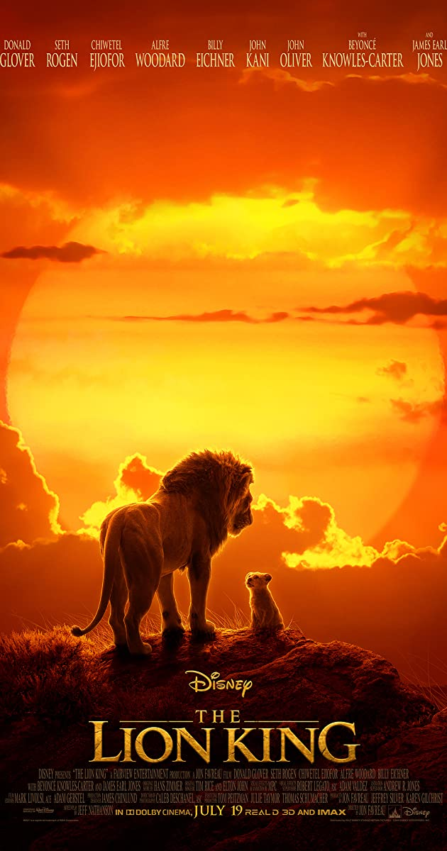 The Lion King (2019) [BluRay] [720p] [YTS.LT]