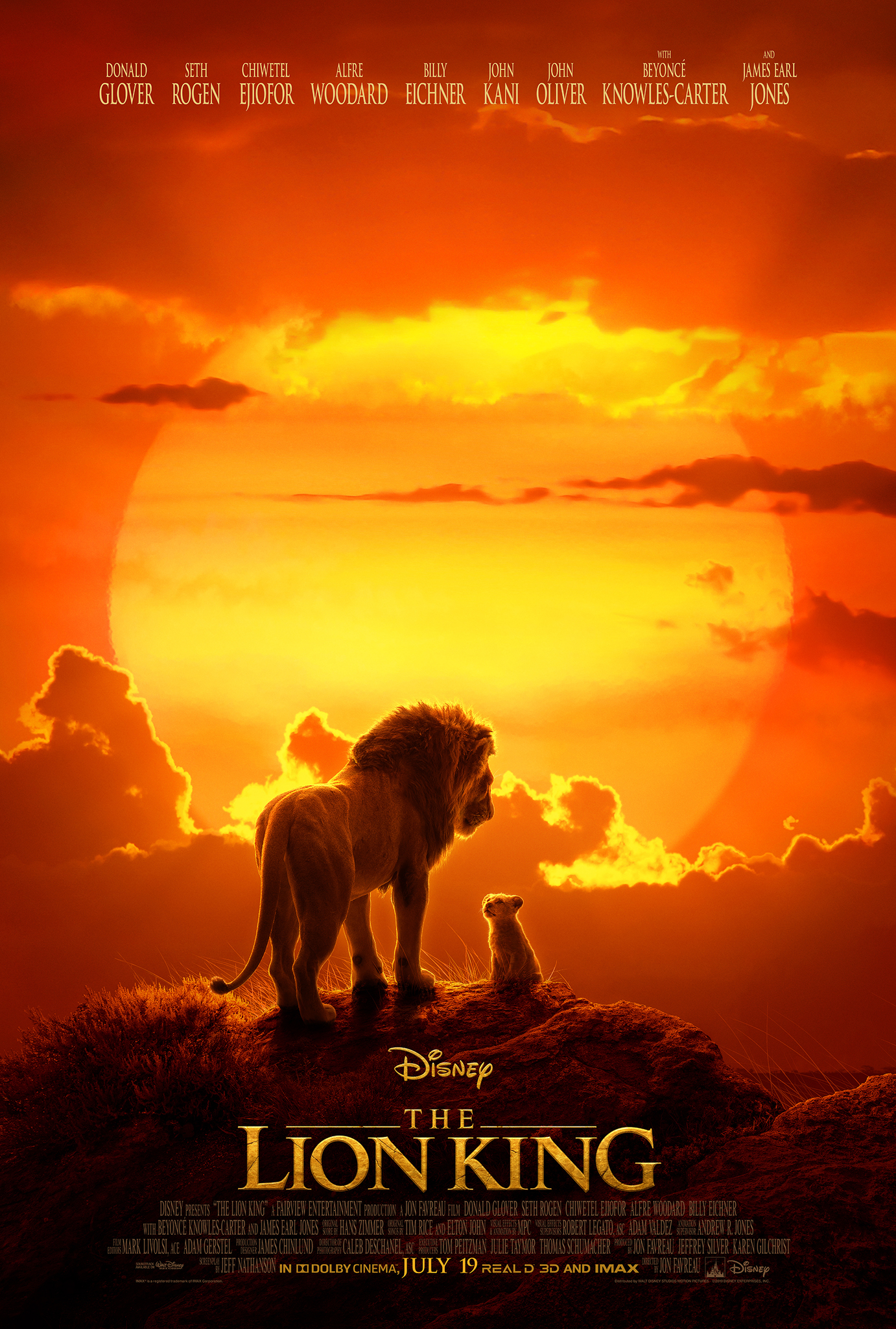 The Lion King (2019) BluRay 480p, 720p, 1080p & 4K-2160p