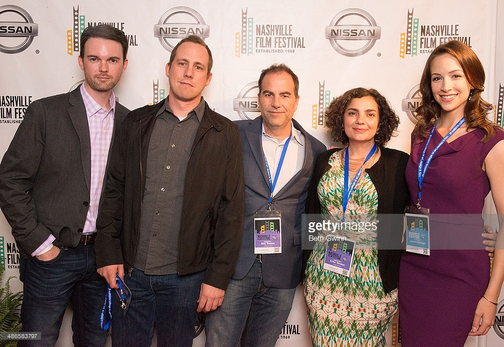 Will Fox, Jonathan Rogers, Billy Senese, Erika Senese, and Jennifer Spriggs the Producers of the Film 'Closer to God' attend the Nashville Film Festival.