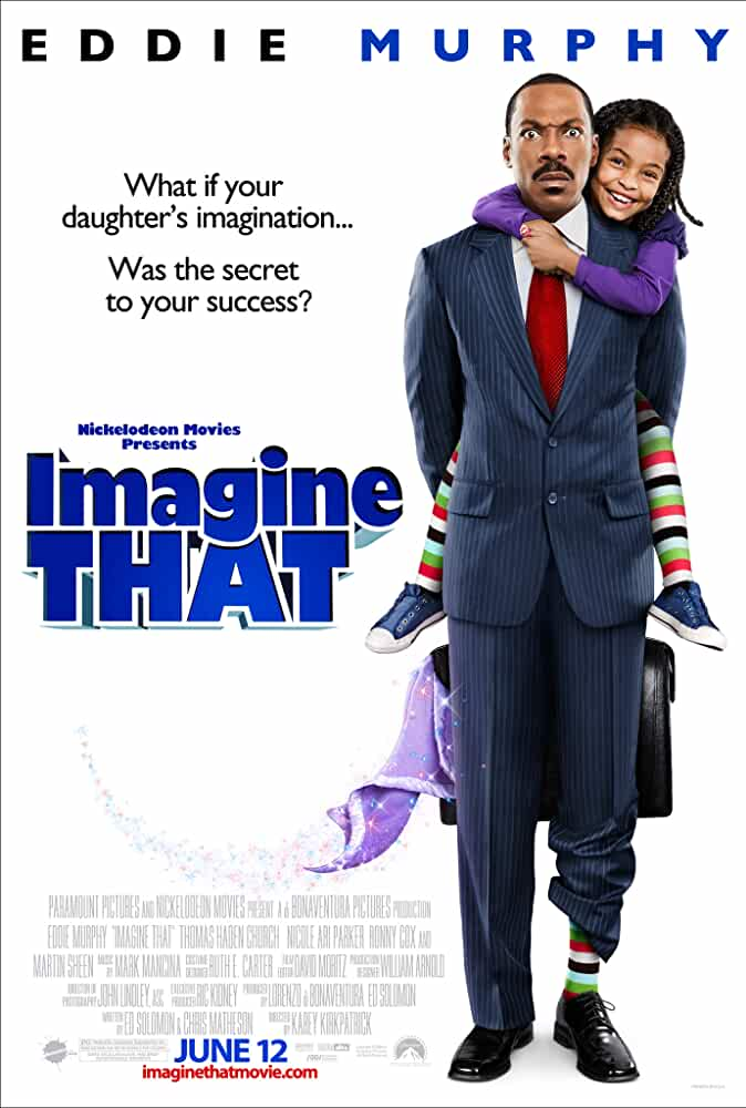 Imagine That (2009) Blu-Ray 720p Dual Audio [Hindi + English] x264