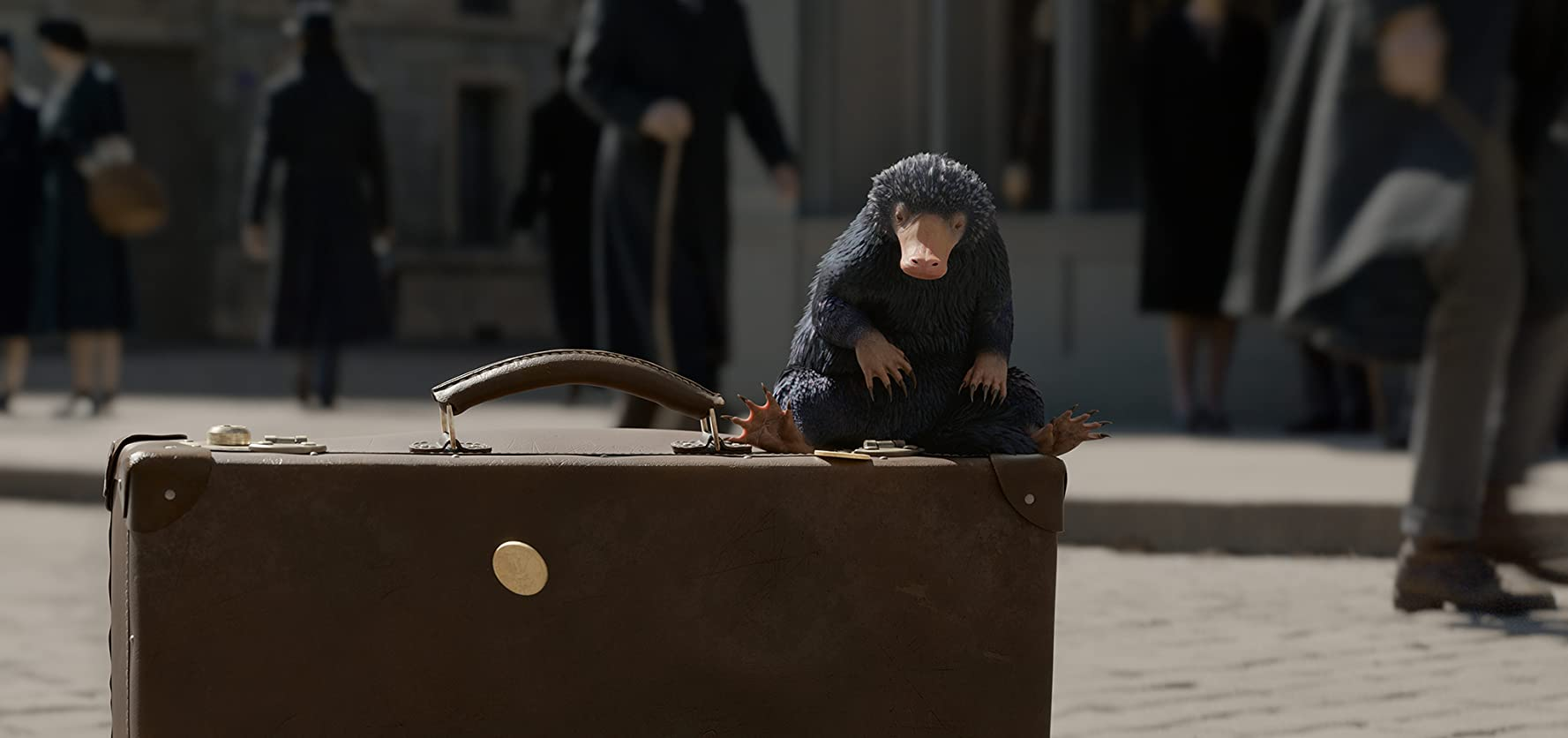 "Beast MasterIt wouldn't be Fantastic Beasts without the creatures and Redmayne assured us there will be plenty to enjoy. ""Probably been my favorite scene to shoot so far involves baby Nifflers,"" said Redmayne of the mole-like, treasure-seekers (seen here). ""They just cause havoc along with new creatures that are as unique, useful, and dangerous — if not more so — than in the first film."""