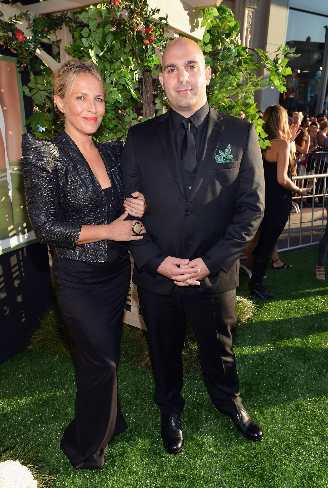 Ahmet Zappa and Shana Muldoon at an event for The Odd Life of Timothy Green (2012)