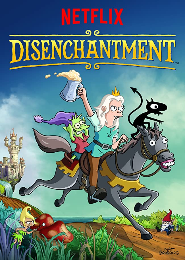 Disenchantment 2021 S03 Hindi Netflix Complete Series 720p HDRip 1.9GB Download