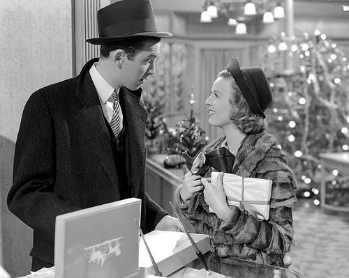 James Stewart and Margaret Sullavan in The Shop Around the Corner (1940)