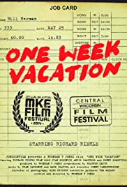 One Week Vacation Poster