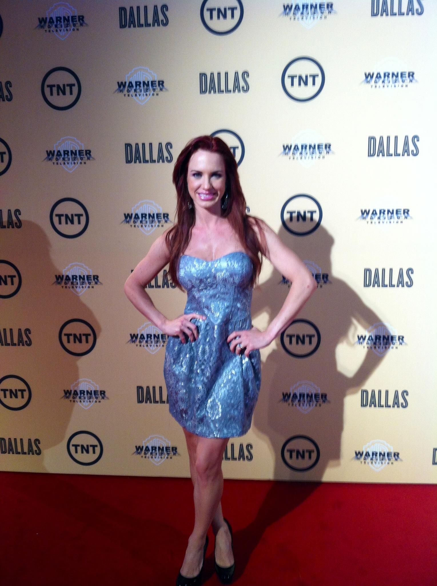 "Erin Marie Garrett at ""Dallas"" premiere"