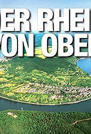 Der Rhein von oben Poster