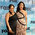 Sandra Oh and Chandra Wilson at an event for Grey's Anatomy (2005)