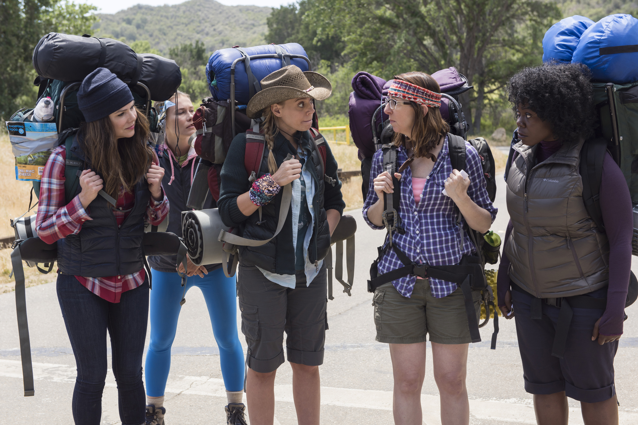 Lauren Graham, Irene White, Julanne Chidi Hill, and Stacey Oristano in Gilmore Girls: A Year in the Life (2016)