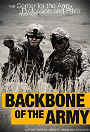 Backbone of the Army Poster