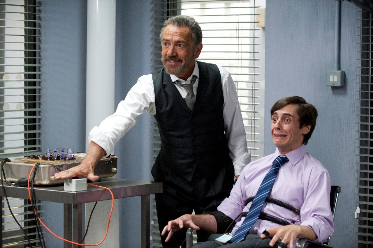 Robert Lindsay and Ed Coleman in Spy (2011)