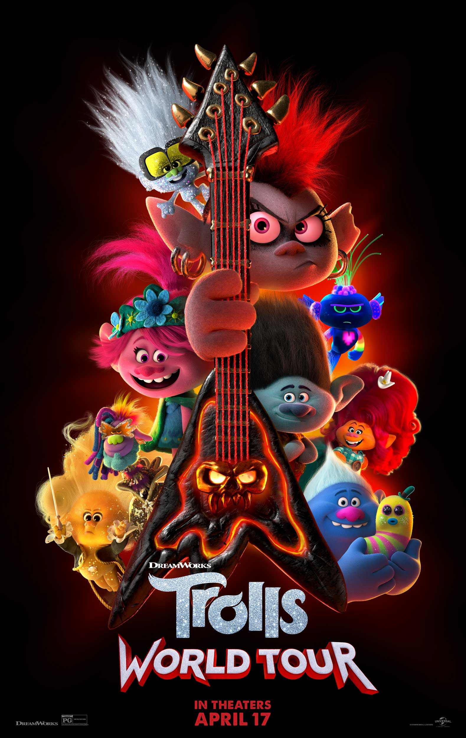 Image result for trolls world tour movie poster