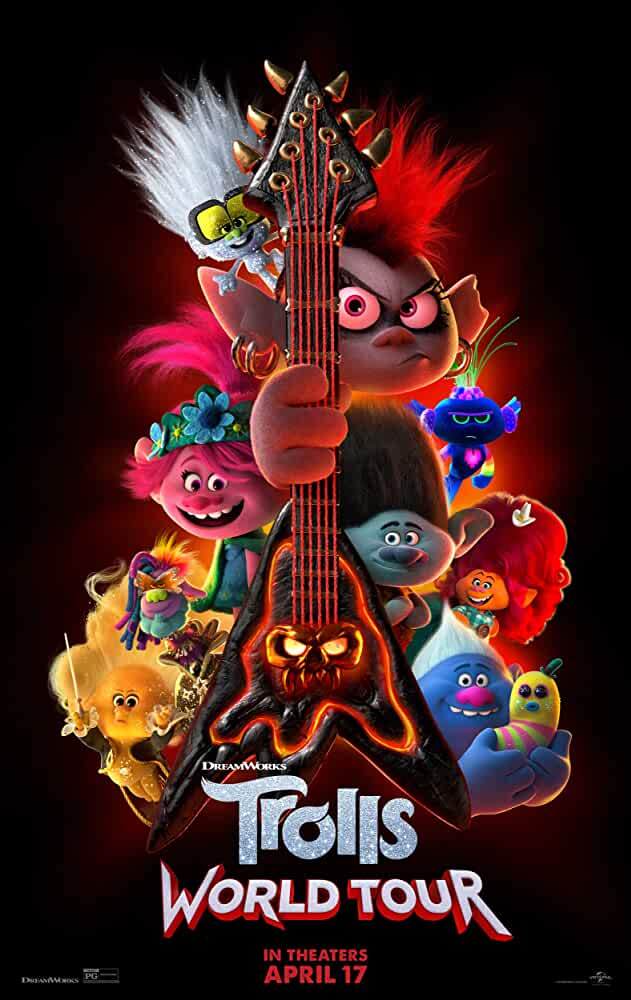 Trolls World Tour 2020 BluRay Dual Audio Hindi Eng 480p 300MB