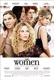 Meg Ryan, Jada Pinkett Smith, Annette Bening, Debra Messing, and Eva Mendes in The Women (2008)