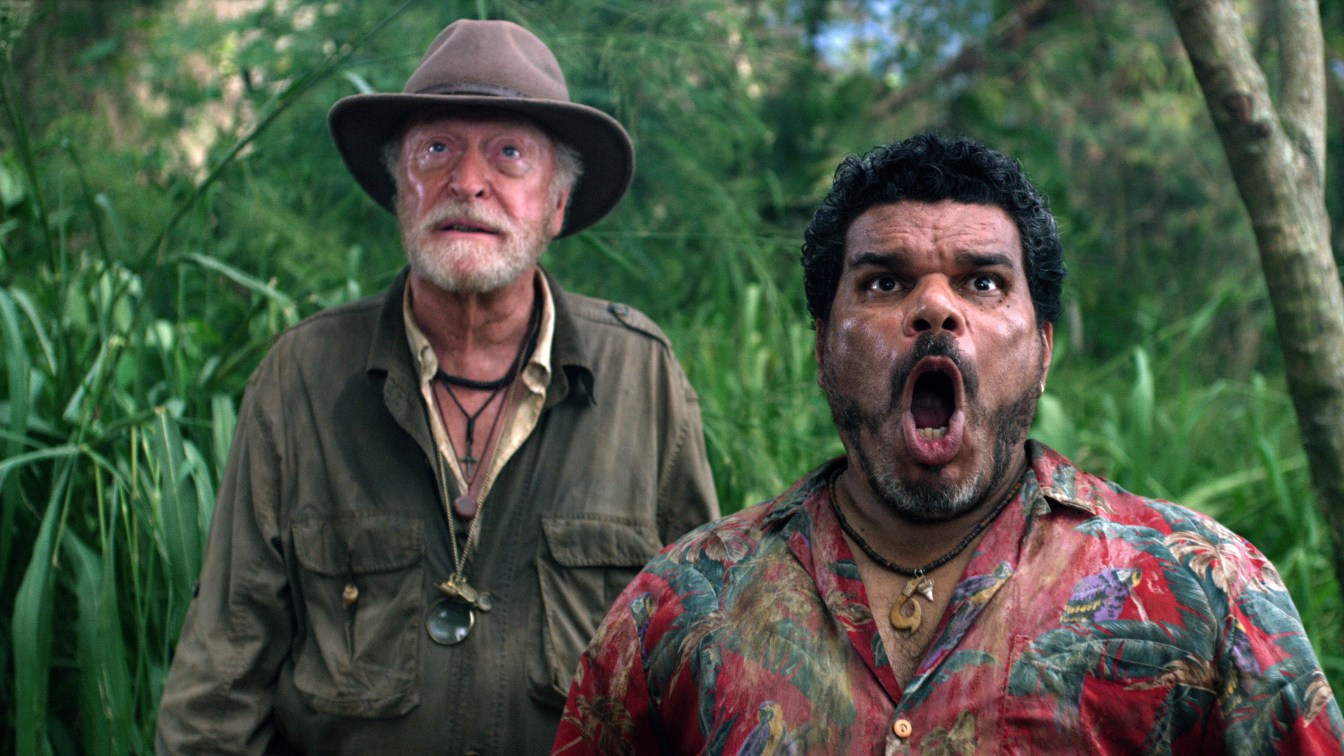 Michael Caine and Luis Guzmán in Journey 2: The Mysterious Island (2012)