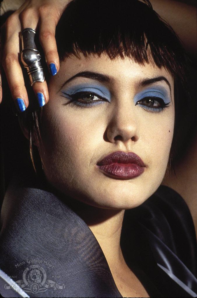 Angelina Jolie in Hackers (1995)