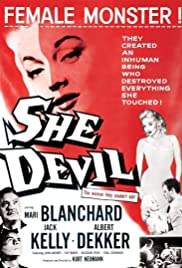 She Devil (1957) Poster - Movie Forum, Cast, Reviews