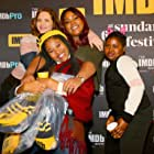 Jordana Spiro, Dominique Fishback, Angelica Nwandu, and Tatum Marilyn Hall in Night Comes On (2018)