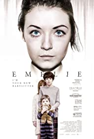 Sarah Bolger, Joshua Rush, Thomas Bair, and Carly Adams in Emelie (2015)