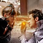 Emmy Rossum and Justin Chatwin in Dragonball Evolution (2009)