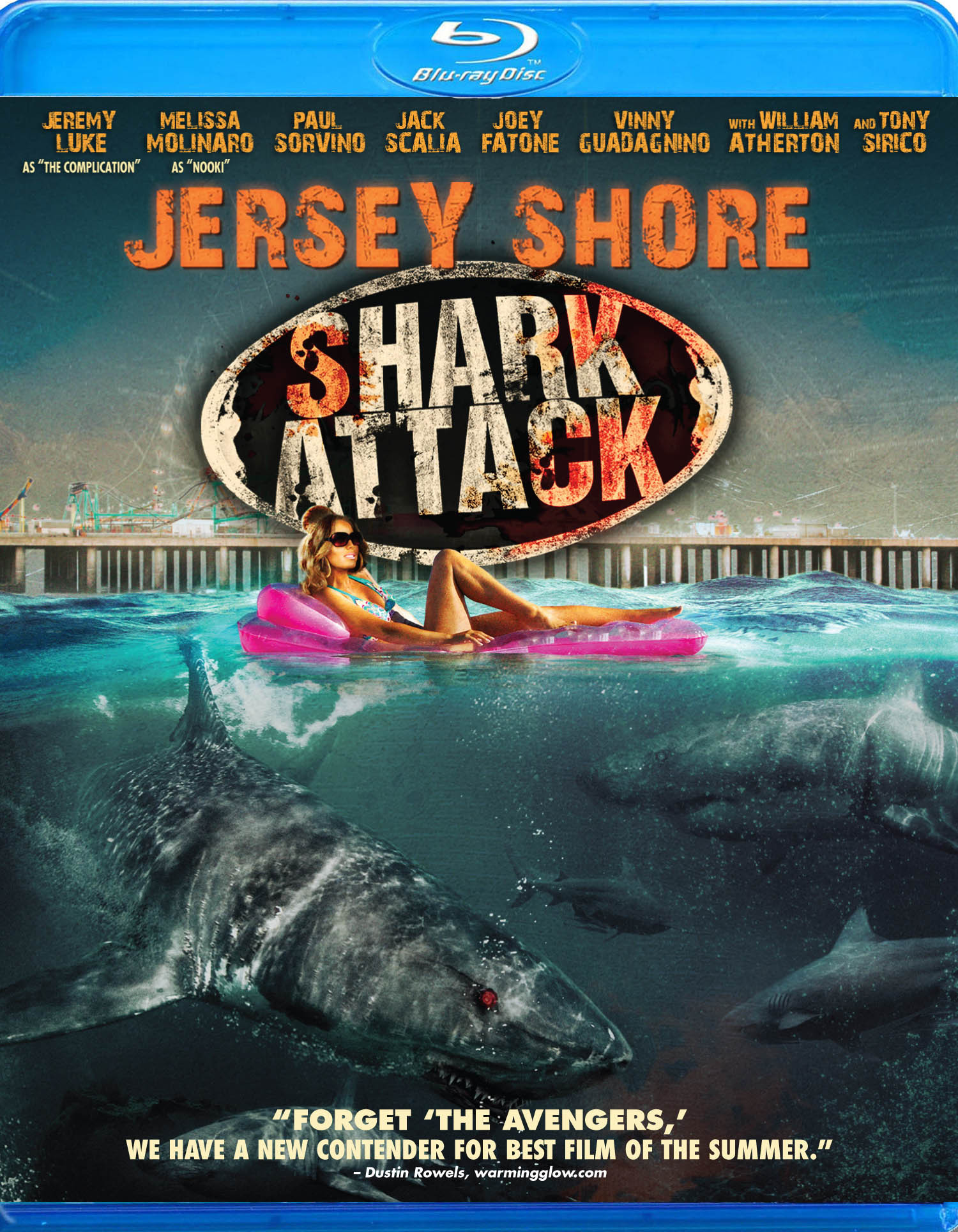 Jersey Shore Shark Attack (TV Movie 2012) - IMDb