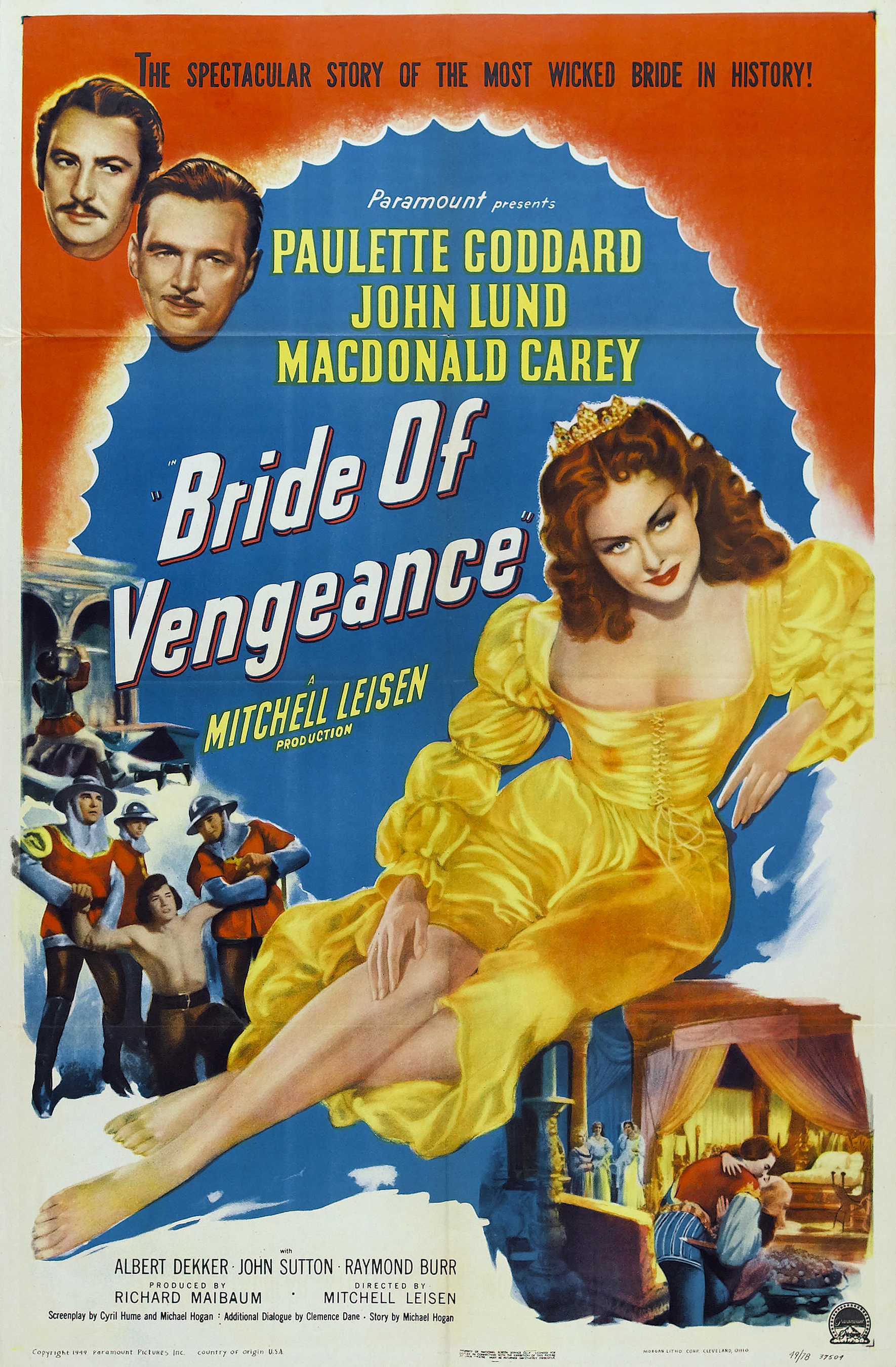 Bride Of Vengeance 1949 Imdb