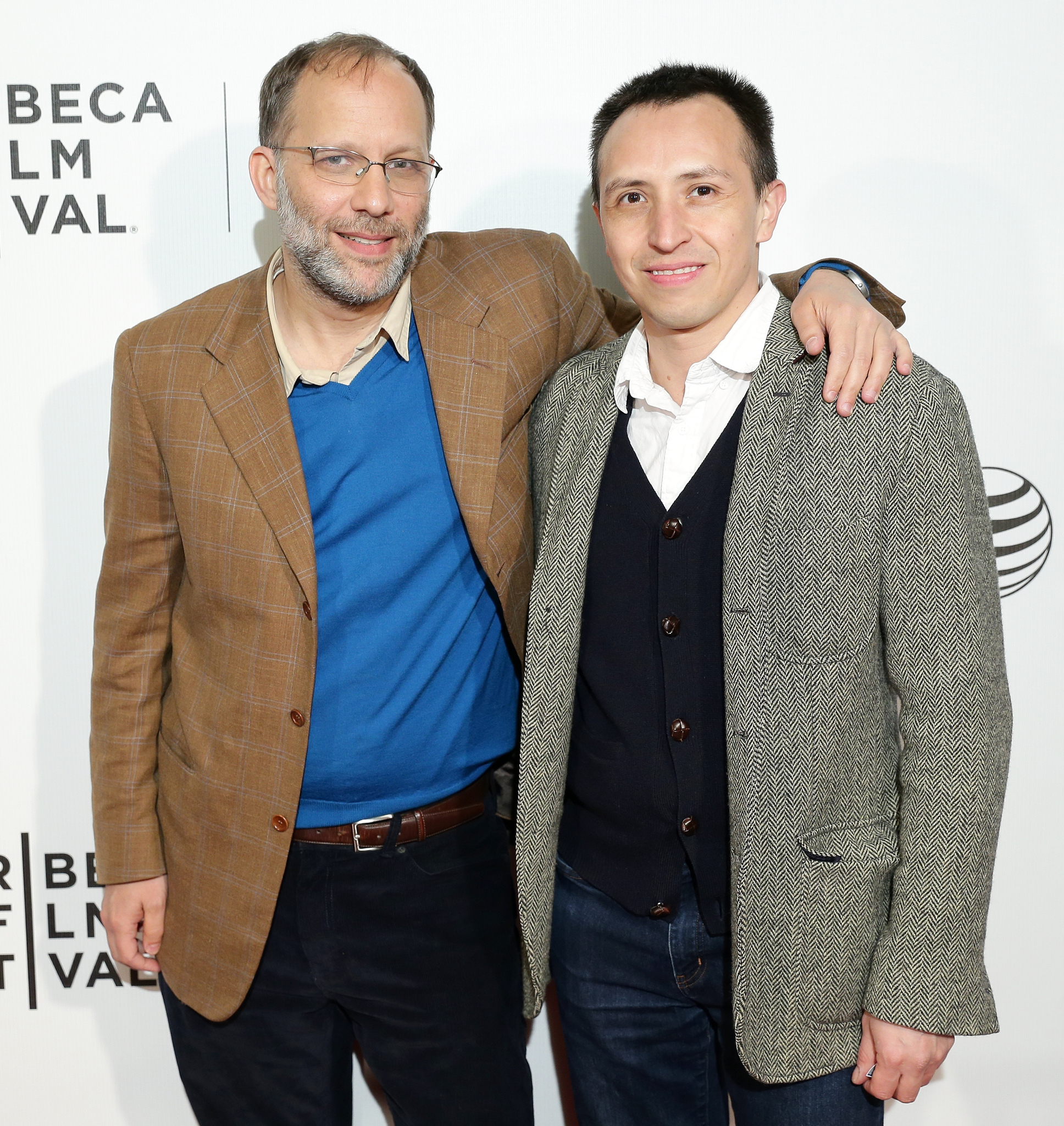 Ira Sachs and Boris Torres at an event for Love Is Strange (2014)