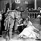 David Niven, Jack Hawkins, David Hutcheson, and Margaret Leighton in The Elusive Pimpernel (1949)