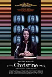 Christine (2016) Poster - Movie Forum, Cast, Reviews