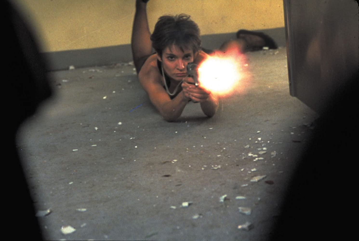 Image result for anne parillaud the femme nikita gif