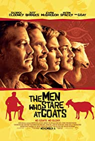 George Clooney, Ewan McGregor, Kevin Spacey, and Jeff Bridges in The Men Who Stare at Goats (2009)