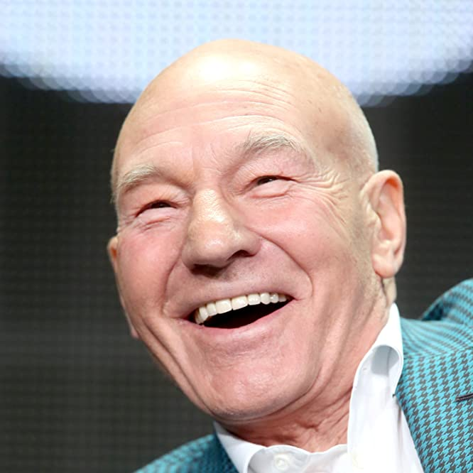 Patrick Stewart at an event for Blunt Talk (2015)