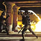 Steven Brand and Dwayne Johnson in The Scorpion King (2002)