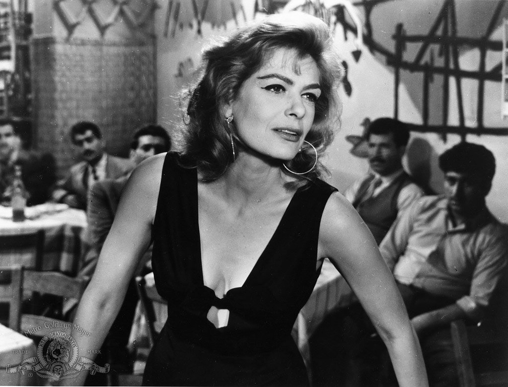 MELINA MERCOURI — A Late Bloomer