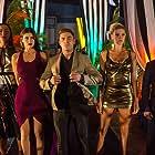 Alexandra Daddario, Zac Efron, Ilfenesh Hadera, Jon Bass, and Kelly Rohrbach in Baywatch (2017)