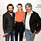 """Max Casella, Trieste Kelly Dunn, and Onur Tukel attend the premier of """"Applesauce"""" during the 2015 Tribeca Film Festival"""