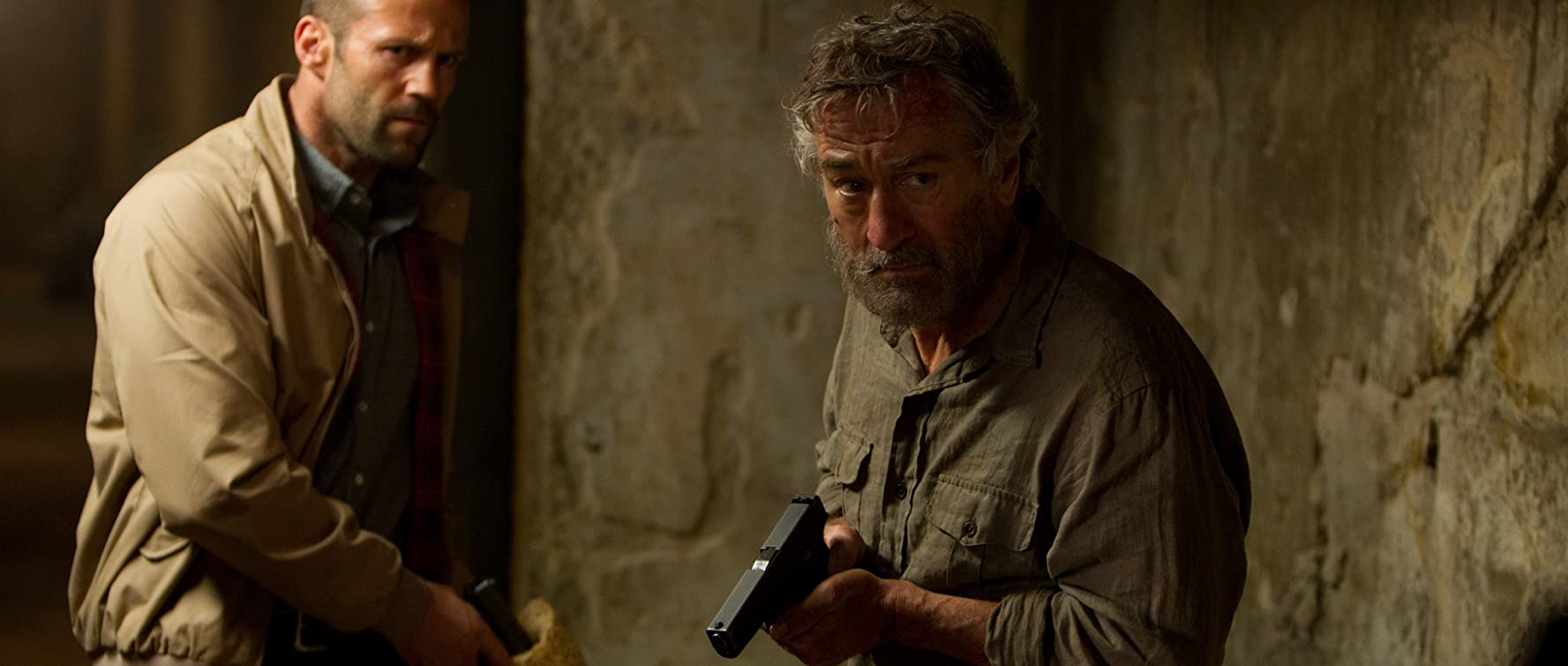 Robert De Niro and Jason Statham in Killer Elite (2011)