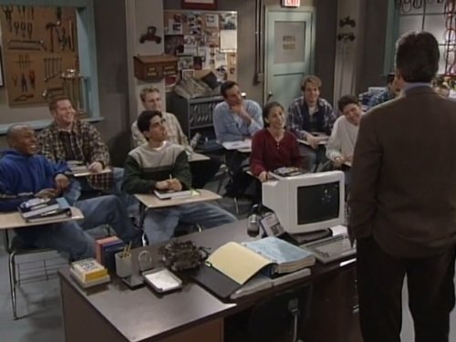 Tim Allen, Josh Blake, RonReaco Lee, Arroyn Lloyd, and Steve Monroe in Home Improvement (1991)
