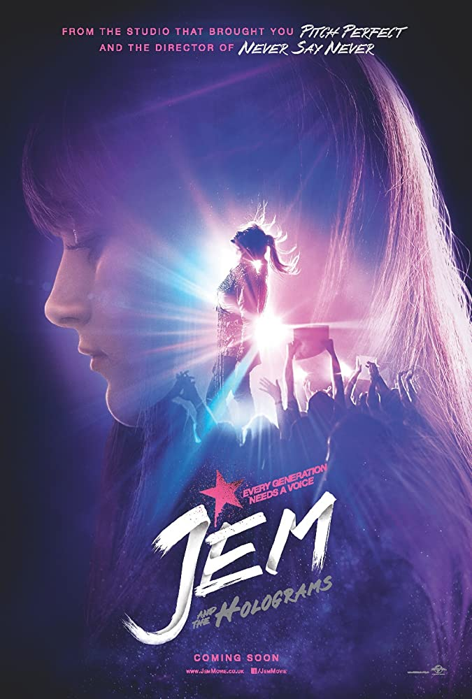 Jem and the Holograms (2015) Hindi Dubbed